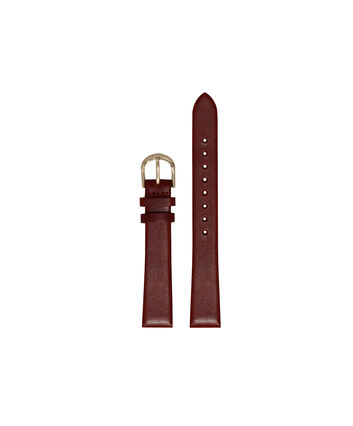 OLIVIA BURTON LONDON Burgundy Watch StrapOBS254A – Ladies Burgundy Watch Strap - Front view