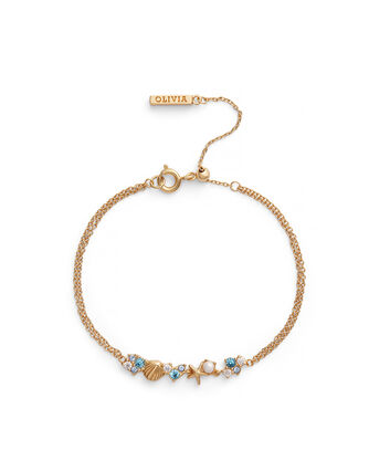 OLIVIA BURTON LONDON Under The Sea Chain Bracelet GoldOBJSCB02 – SHOPBAG_LABEL - Front view