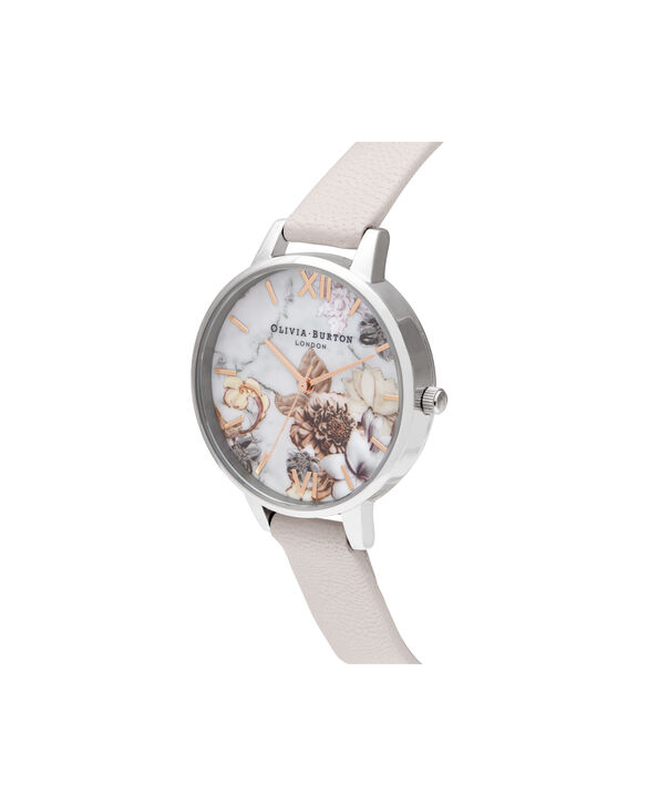 OLIVIA BURTON LONDON Demi Pearl Pink, Rose Gold & SilverOB16CS21 – Demi Dial in Pearl Pink and Silver & Rose Gold - Side view