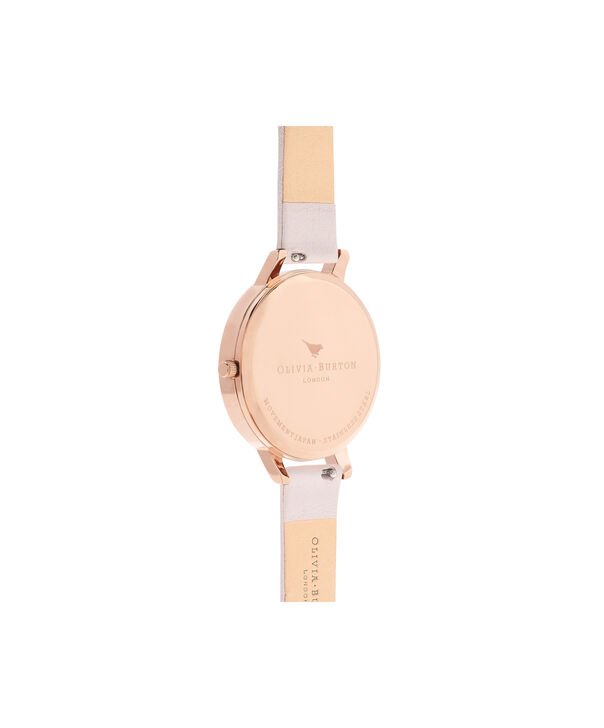 OLIVIA BURTON LONDON  Pretty Blossom Rose Gold & Blossom Watch OB16EG93 – Big Dial Round in Rose Gold and Blossom - Back view