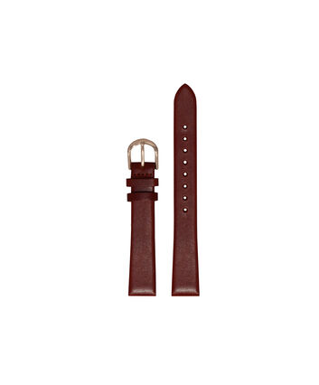 OLIVIA BURTON LONDON Big Dial Burgundy and Rose Gold Watch StrapOBS249A – Ladies Big Dial Burgundy Watch Strap - Front view