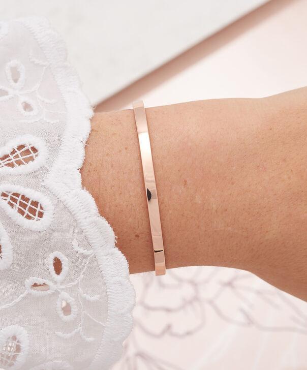 OLIVIA BURTON LONDON  Engravables Drop Bar Bracelet Rose Gold OBJ16ENB08 – Engravable Chain Bracelet - Other view