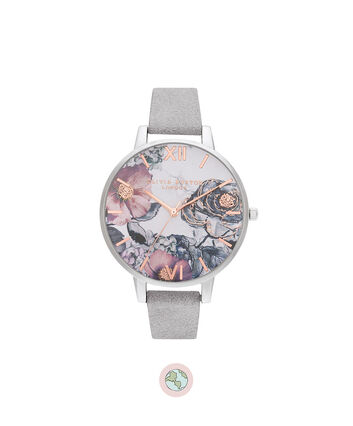 OLIVIA BURTON LONDON Eco Friendly Grey, Rose Gold & SilverOB16VM23 – Eco Friendly Grey, Rose Gold & Silver - Front view