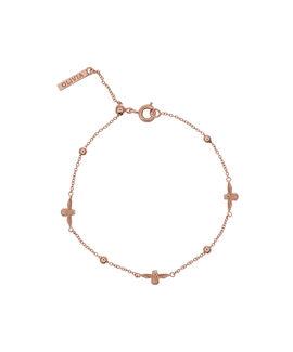 3D Bee & Ball Chain Bracelet Rose Gold