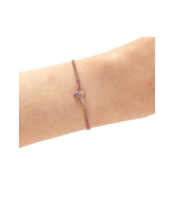 OLIVIA BURTON LONDON Bejewelled Bee Bracelet Rose Gold & AmethystOBJAMB75 – Bracelet in Rose Gold - Other view