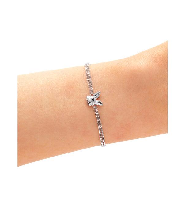 OLIVIA BURTON LONDON 3D Bunny Chain Bracelet SilverOBJAMB98 – 3D Bunny Chain Bracelet Silver - Back view