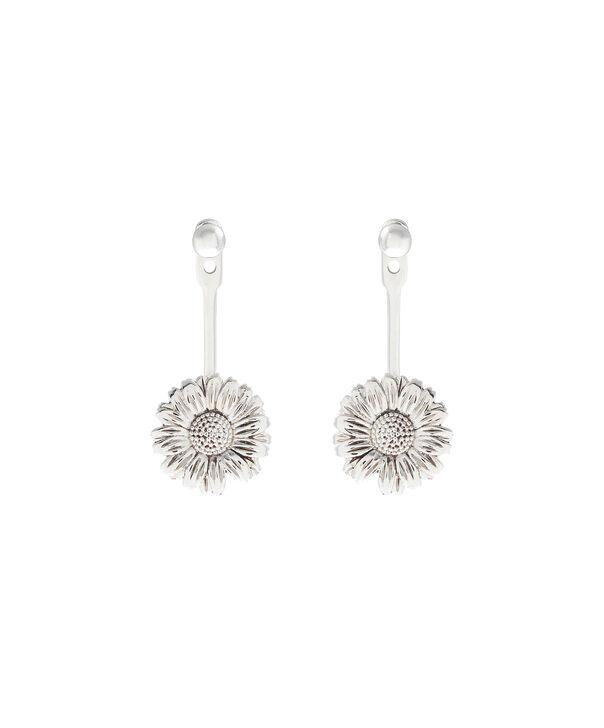 Ladies Daisy Jacket Earrings Silver | Olivia Burton London