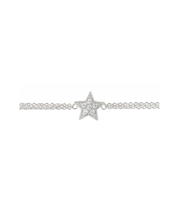OLIVIA BURTON LONDON Celestial Star Chain BraceletOBJ16CLB03 – Celestial Chain Bracelet - Side view