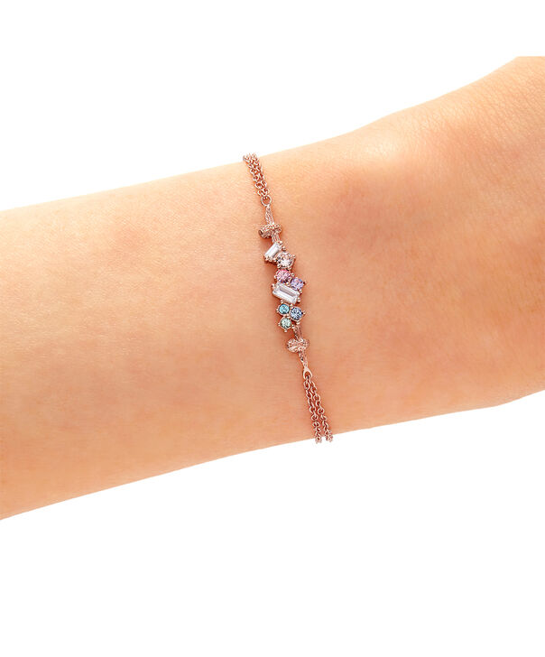 OLIVIA BURTON LONDON Rainbow Bee Chain Bracelet Rose GoldOBJAMB76 – Rainbow Bee Chain Bracelet Rose Gold - Other view