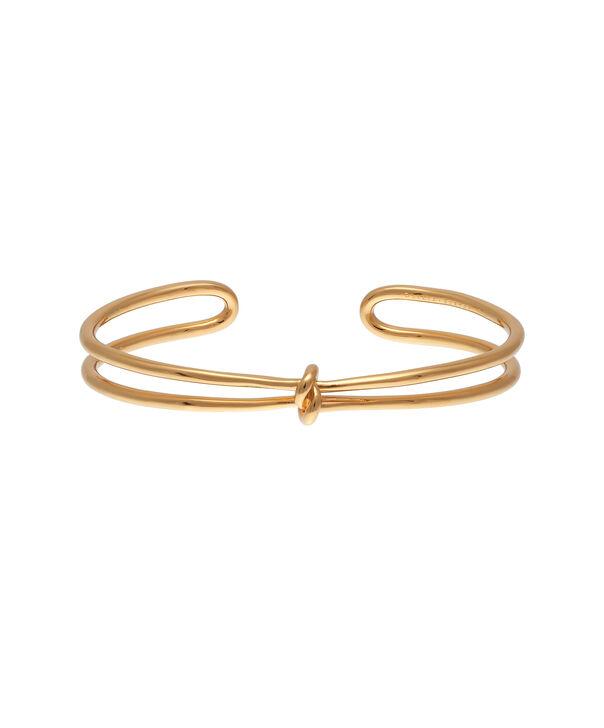 OLIVIA BURTON LONDON  Forget Me Knot Cuff Bracelet Gold OBJ16KDB04 – Forget Me Knot Cuff - Front view