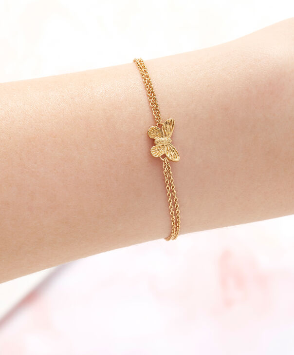 OLIVIA BURTON LONDON  3D Butterfly Chain Bracelet Gold OBJ16MBB01 – 3D Butterfly Chain Bracelet - Other view