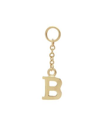 OLIVIA BURTON LONDON Initital Charm B GoldOBJ16HCGB – Charm in Gold - Front view