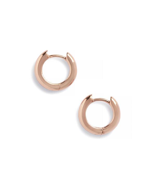 OLIVIA BURTON LONDON Huggie Hoop EarringsOBJ16COE25 – Huggie Hoop Earrings - Side view