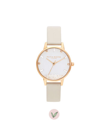 OLIVIA BURTON LONDON The Wishing Watch Gold & Vegan NudeOB16SG09 – The Wishing Watch Gold Bracelet - Front view