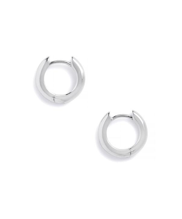 OLIVIA BURTON LONDON Huggie Hoop EarringsOBJ16COE23 – Huggie Hoop Earrings - Side view