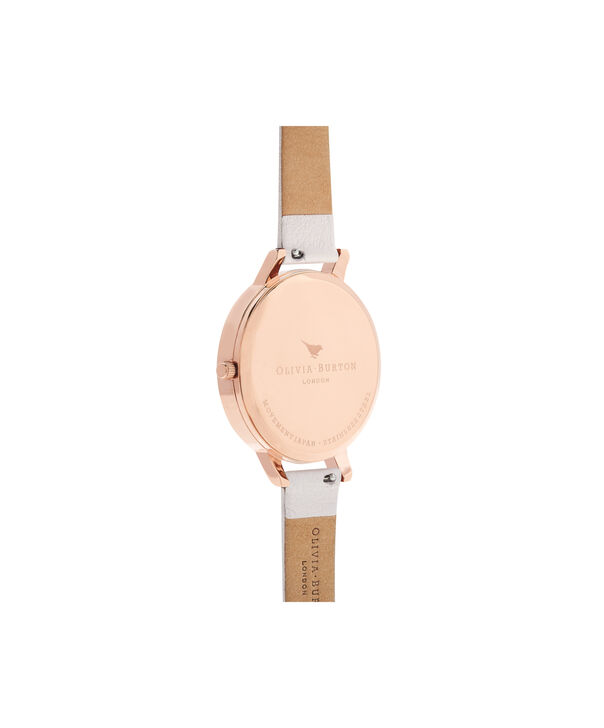 OLIVIA BURTON LONDON  Glasshouse Blush & Rose Gold OB16EG97 – Big Dial Round in Rose Gold - Back view