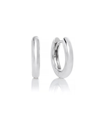 OLIVIA BURTON LONDON Huggie Hoop EarringsOBJ16COE23 – Huggie Hoop Earrings - Front view