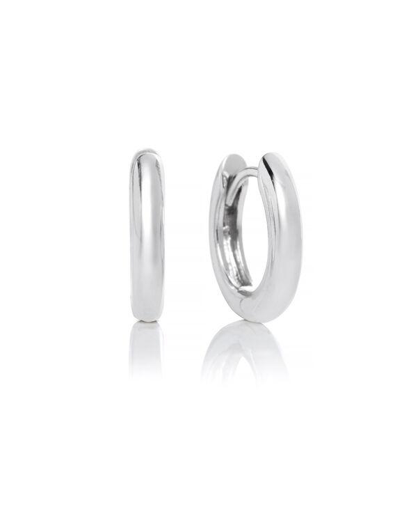 OLIVIA BURTON LONDON Huggie Hoop EarringsOBJ16COE23 – Huggie Hoop Earrings - Front view