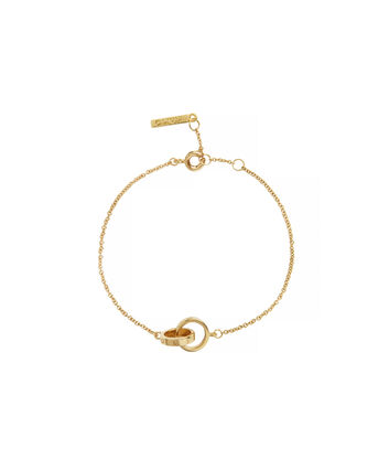 OLIVIA BURTON LONDON The Classics Chain BraceletOBJENB12B – The Classics Chain Bracelet - Front view