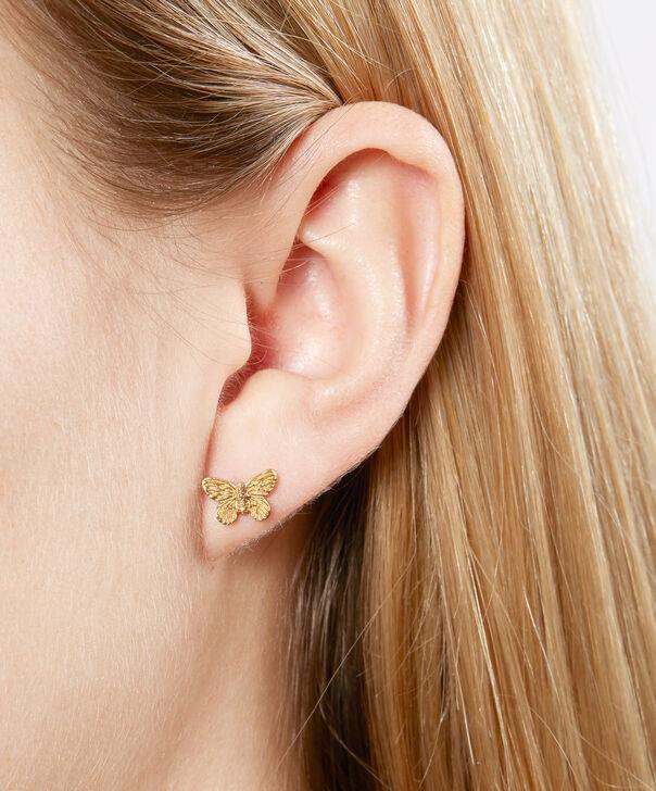 OLIVIA BURTON LONDON 3D Butterfly Stud Earrings GoldOBJ16MBE01 – 3D Butterfly Stud Earrings - Other view