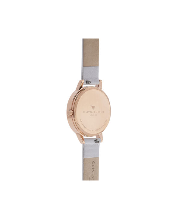 OLIVIA BURTON LONDON  Midi Dial Blush & Rose Gold Watch OB16MD82 – Midi Dial Round inRed Gold and Blush - Back view