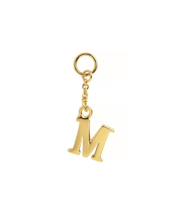 OLIVIA BURTON LONDON  M Alphabet Huggie Charm Gold OBJ16HCGM – Charms - Front view