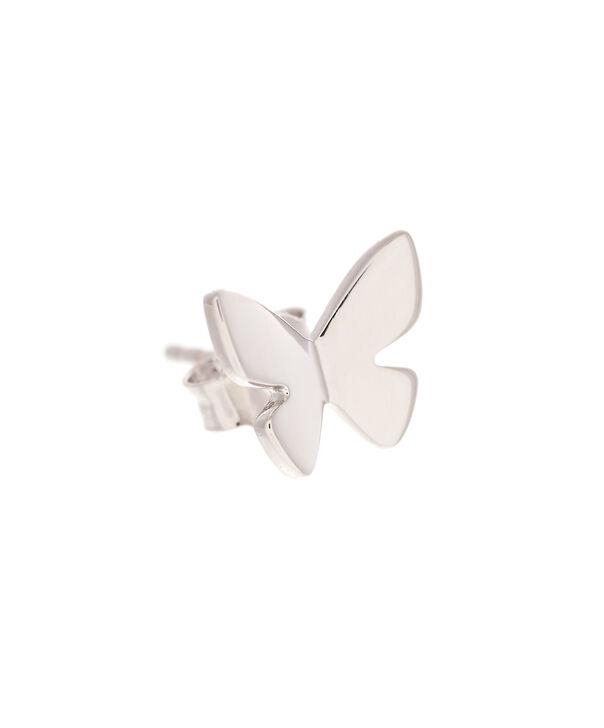 OLIVIA BURTON LONDON  Social Butterfly Stud Earrings Silver OBJ16SBE03 – Social Butterfly Stud Earrings - Side view