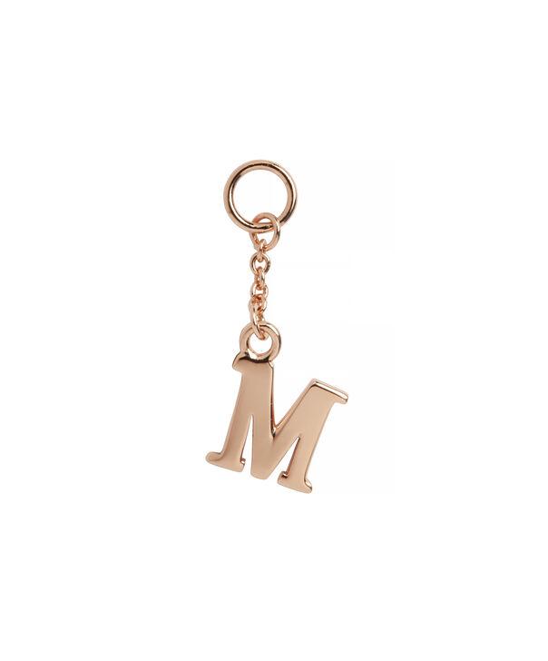 OLIVIA BURTON LONDON  M Alphabet Huggie Charm Rose Gold OBJ16HCRGM – Charms - Front view