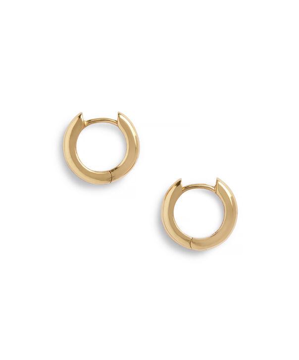 OLIVIA BURTON LONDON Huggie Hoop EarringsOBJ16COE24 – Huggie Hoop Earrings - Side view