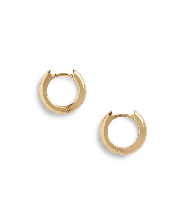 OLIVIA BURTON LONDON Huggie Hoop EarringsOBJ16COE24 – Huggie Hoop Earrings - Side view