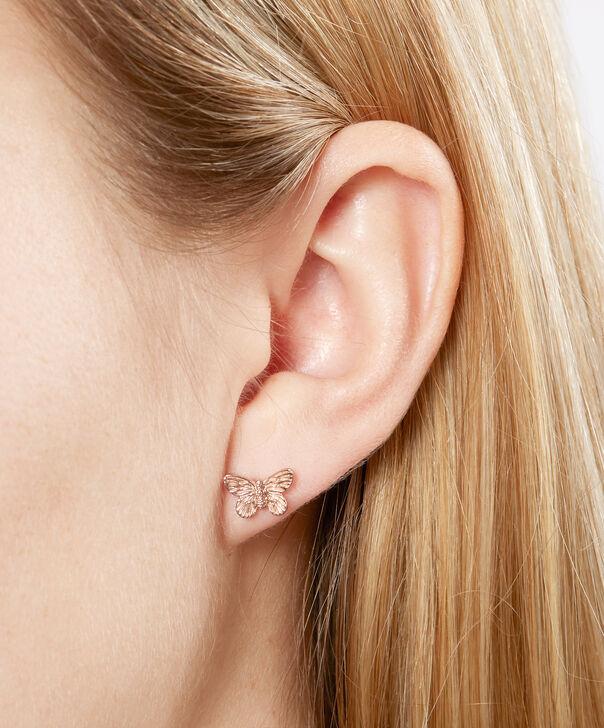 OLIVIA BURTON LONDON 3D Butterfly Stud Earrings Rose GoldOBJ16MBE02 – 3D Butterfly Stud Earrings - Other view