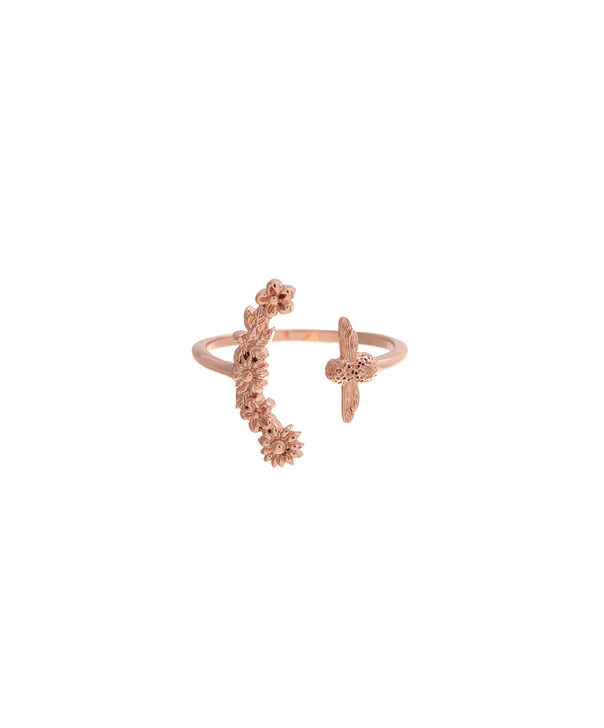 OLIVIA BURTON LONDON  Bee Blooms Ring Rose Gold  OBJ16BBR01 – Bee Blooms Ring - Front view