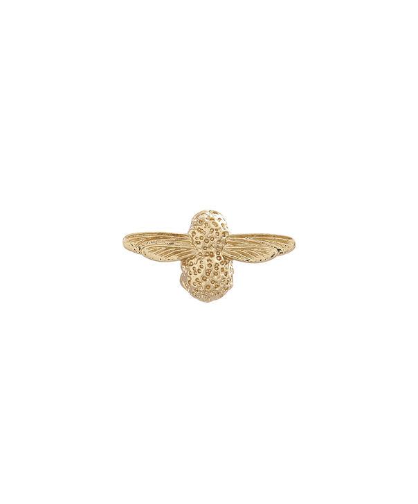 OLIVIA BURTON LONDON Gold Bee PinOBPIN01 – Bee Pin in Gold - Front view