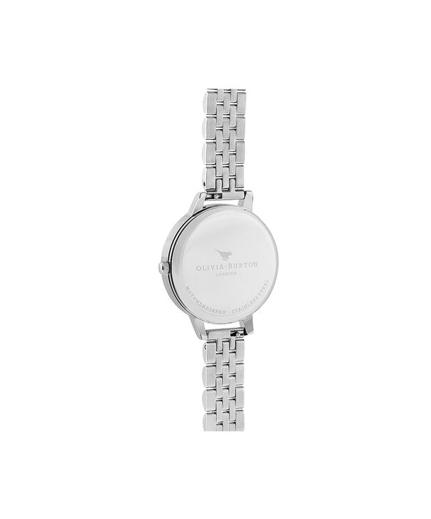 OLIVIA BURTON LONDON Bejewelled Lace  Silver BraceletOB16MV101 – Bejewlled Lace  Silver Bracelet - Back view