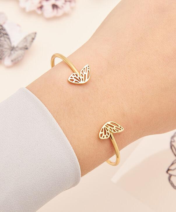 OLIVIA BURTON LONDON Butterfly Wing Bangle Gold OBJ16EBB04 – Butterfly Wing Bangle - Other view