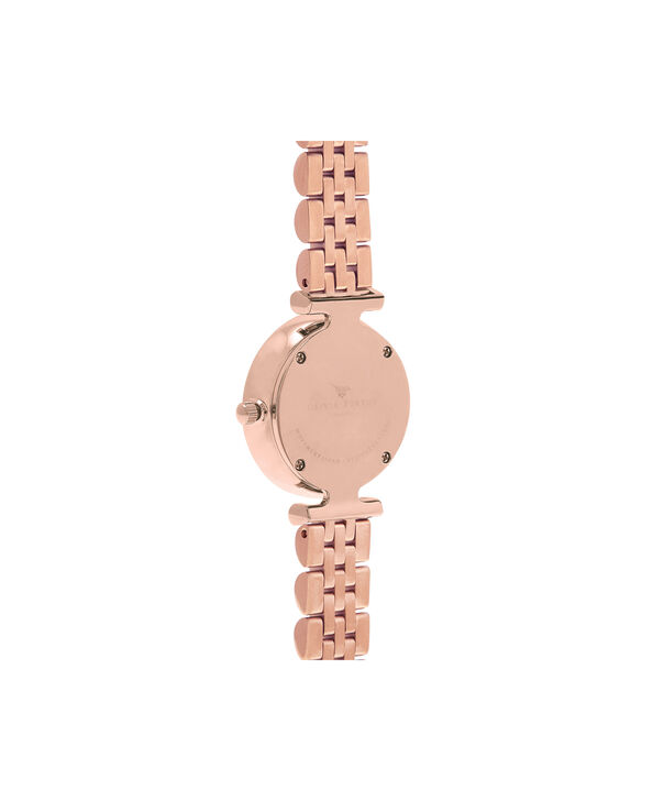 OLIVIA BURTON LONDON  Queen Bee Pink Mother of Pearl Bracelet Rose Gold OB16AM152 – Midi Dial Round in Rose Gold - Back view
