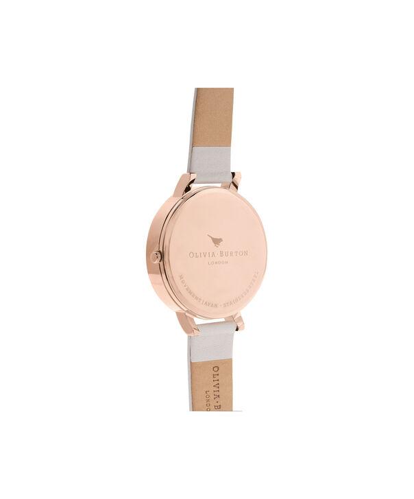 OLIVIA BURTON LONDON  3D Bouquet Blush & Rose Gold Watch OB16FS85 – Big Dial Round in Blush - Back view