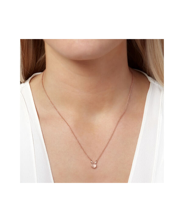 OLIVIA BURTON LONDON Bunny Gift Set Rose Quartz & Rose GoldOBJGSET07 – Necklace in Rose Gold - Other view