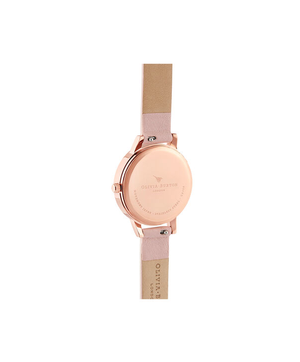 OLIVIA BURTON LONDON Sunlight Florals Dusty Pink & Rose GoldOB16EG115 – Sunlight Florals Dusty Pink & Rose Gold - Back view