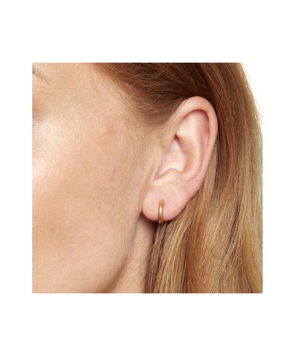 OLIVIA BURTON LONDON Huggie Hoop EarringsOBJ16COE24 – Huggie Hoop Earrings - Back view
