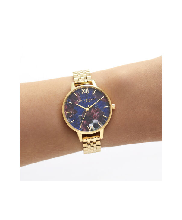 OLIVIA BURTON LONDON Demi Lapis Lazuli & Gold BraceletOB16SP13 – Demi Dial in Gold and Gold - Other view