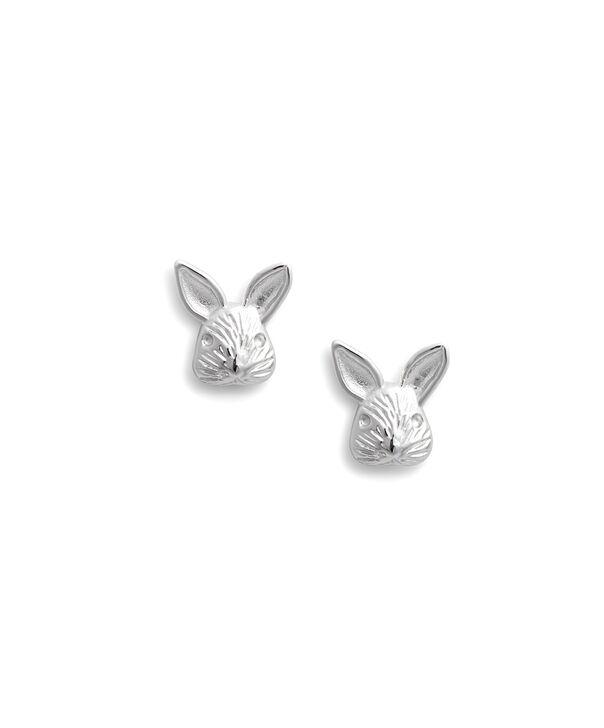 OLIVIA BURTON LONDON 3D Bunny Studs SilverOBJAME111 – 3D Bunny Studs Silver - Front view