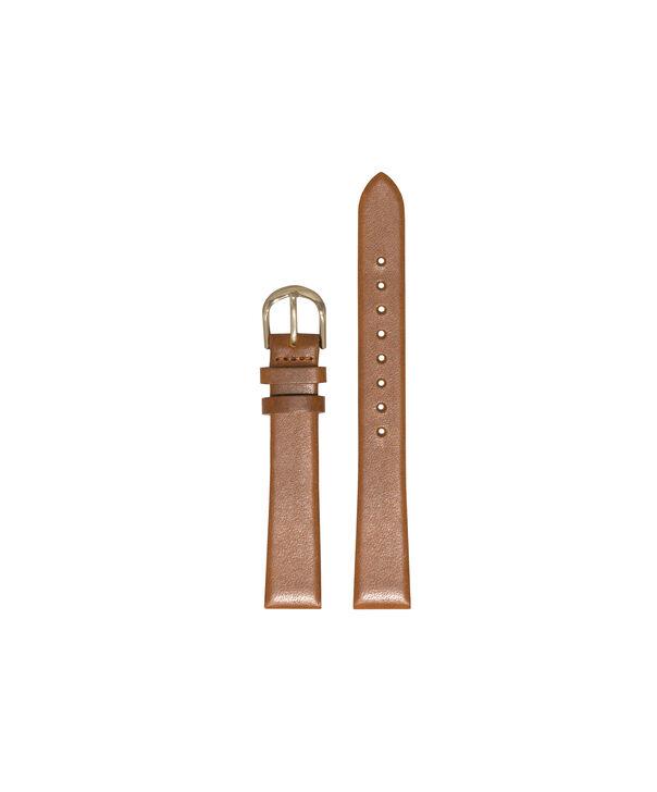 OLIVIA BURTON LONDON Ladies Midi Dial Tan & Gold Watch StrapOBS077 – Ladies Midi Dial Tan & Gold Watch Strap - Front view