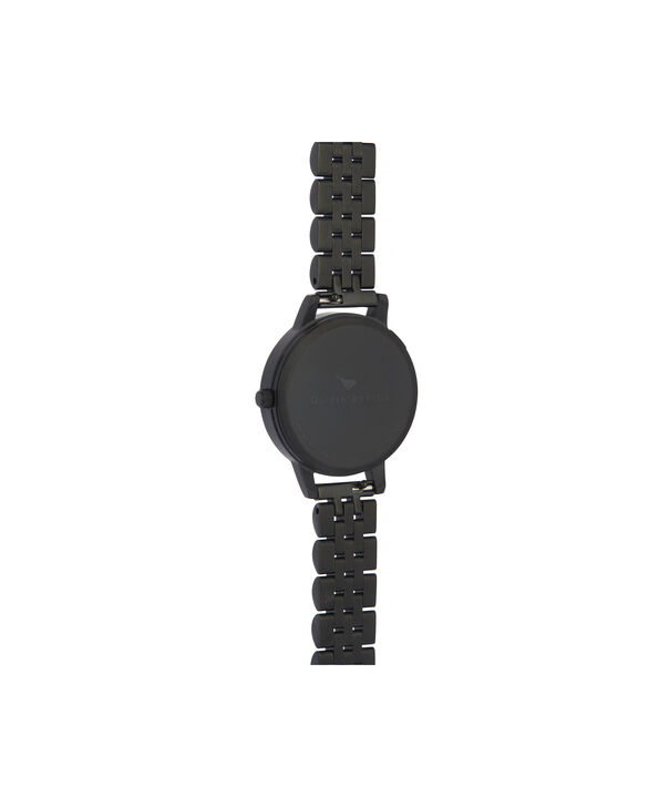 OLIVIA BURTON LONDON After Dark Midi Dial WatchOB16AD41 – Midi Dial in black and Black & Rose Gold - Back view