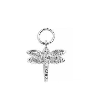 OLIVIA BURTON LONDON Dragonfly Huggie CharmOBJ16AME48 – Charm Charm - Front view