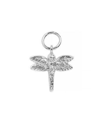 OLIVIA BURTON LONDON Dragonfly Huggie CharmOBJ16AME48 – Charm Charm - Front view