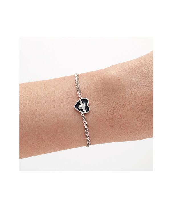 OLIVIA BURTON LONDON Love Bug Chain Bracelet Black & SilverOBJLHB06 – SHOPBAG_LABEL - Other view