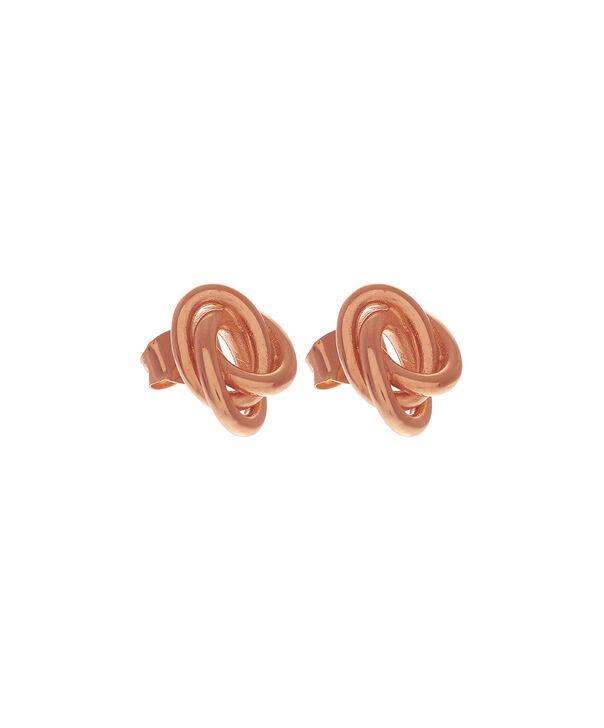 OLIVIA BURTON LONDON  Forget Me Knot Earrings Rose GoldOBJ16KDE02 – Forget Me Knot Earrings - Front view