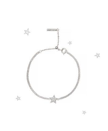 OLIVIA BURTON LONDON Celestial Star Chain BraceletOBJ16CLB03 – Celestial Chain Bracelet - Front view