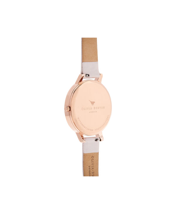 OLIVIA BURTON LONDON  Artisan Dial Blossom & Rose Gold OB16AR01 – Big Dial Round in Rose Gold and Pink - Back view